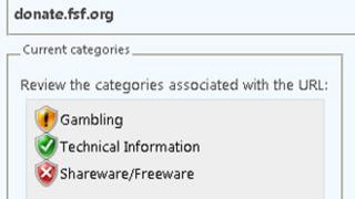 Screen grab of Microsoft threat page