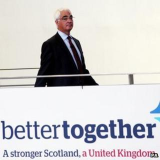 Alistair Darling at launch
