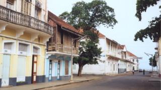 Sao Tome street scene
