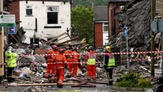 Shaw explosion scene