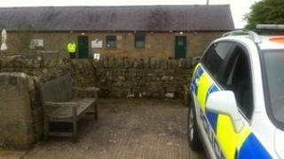 Police car in Kirkharle