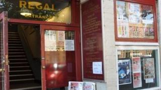 The Regal Theatre in Minehead