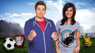 CBBC's Chris and Sonali