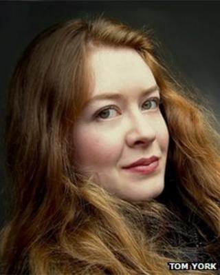 Novelist Grace McCleen - winner of 2012 Desmond Elliott Prize for new fiction