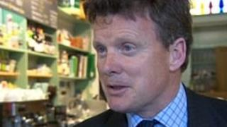 Floods Minister Richard Benyon