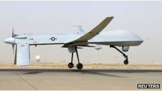 A military drone
