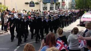 Plymouth parade