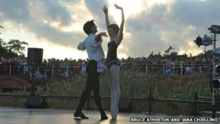 English National Ballet's Carmen at Latitude in 2011 (Photo: Bruce Atherton and Jana Chiellino)