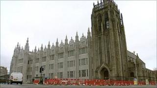Greyfriars John Knox Church and Marischal College