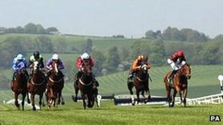 Horse racing at Chepstow
