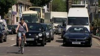 Traffic in Brighton
