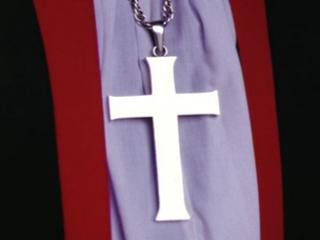 Church of England cross and garments
