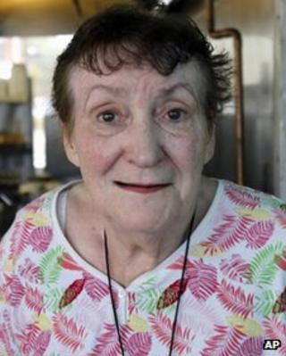 Josephine Harris, owner of Ann's Place on 6 July 2012