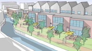 Plan of Prorsus development for Trowbridge
