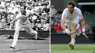 Fred Perry and Andy Murray