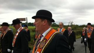 Orangemen in Rossnowlagh