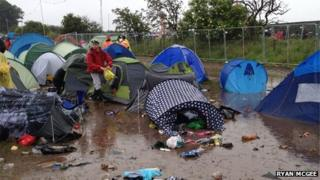 Campsite at T in the Park