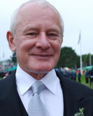 Allan Bell at Tynwald Day 2012 by Mark Edwards
