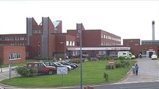 Furness General Hospital which is one of the two hospitals under review by the health inspectors