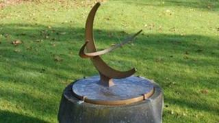 Henry Moore's Sundial