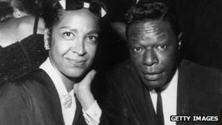 Maria Cole and Nat King Cole in 1964