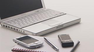 Laptop and mobile phones