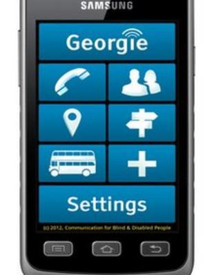 The Georgie smartphone
