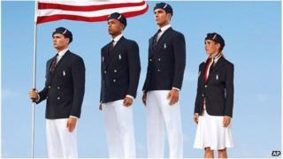 US Olympic uniforms 2012