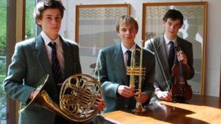 The musical Baldwin boys