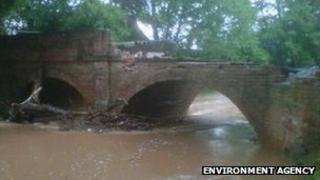 Bridge over River Rea in Neen Sollars