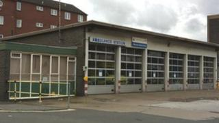 Willow Row ambulance station in Derby