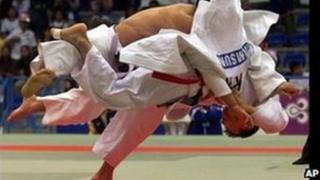 Judo players