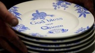 Middleport Pottery Jubilee plates