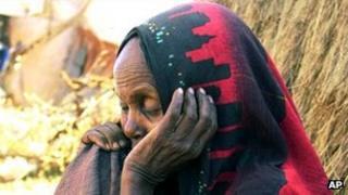 A Somali refugee in Kenya. File photo