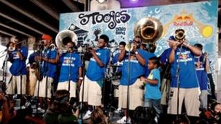 The Stooges Brass Band from New Orleans