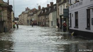 Witney 2007 floods