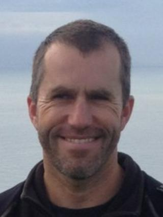 Paraic Casey who died trying to swim English Channel