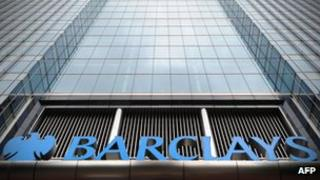 Exterior of Barclays HQ