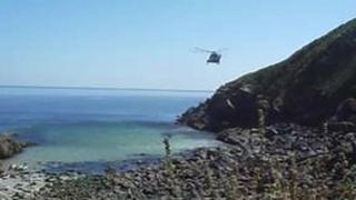 Rescue at Cadgwith