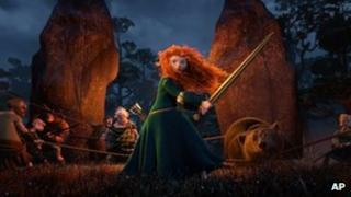 Scene from Disney Pixar's Brave