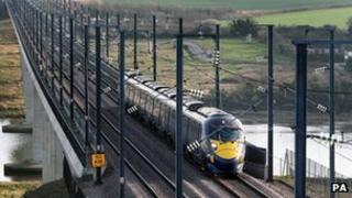 Hitachi high speed Javelin train