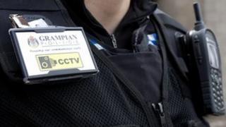 Grampian Police officer