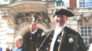 Robert Needham, town crier of Colchester