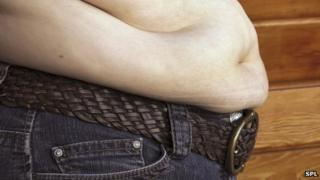 A large waistline