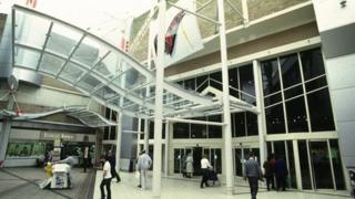 Broadmarsh shopping centre in Nottingham