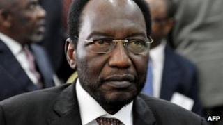 Mali's interim President Diouncounda Traore photographed in May before he was beaten up
