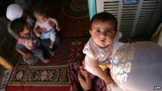 Kurdish Syrian refugees