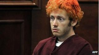James Holmes in court (23 July 2012)