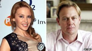 Kylie Minogue and Jason Donovan