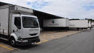 Ferryspeed warehouse in Guernsey